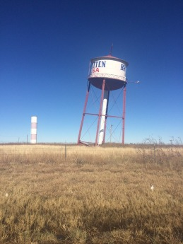 Leaning water tower, Groom TX.