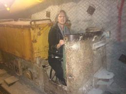 Marian, mining for uranium.