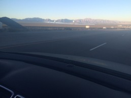 Ivanpah Solar Power Facility, CA (from the Car).